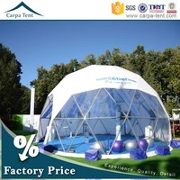 Durable Relocatable Canopy 150 Seaters Geodesic Dome Event Tent Sale To Arab