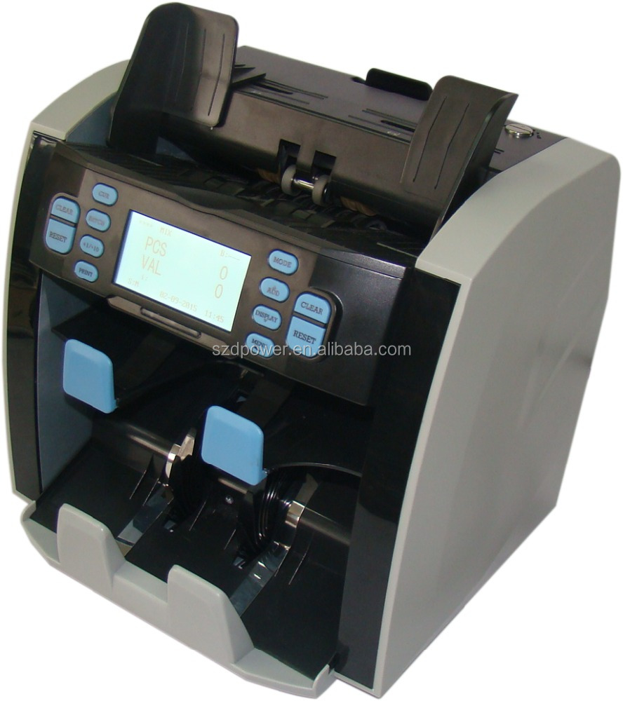 Pass EBC testing Professional Two Pocke tintelligent banknote counter portable banknote counter