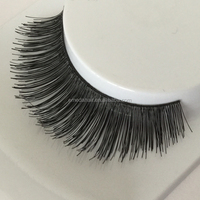 human hair lashes in stock wholesale retail human hair eyelashes small order is accepted, fast delivery with private logo