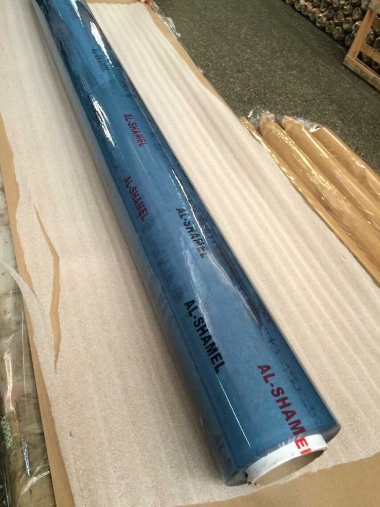 factory for export hot sale flexible clear transparent pvc film