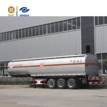 Oil Tanker Crude Oil Tank Semi Trailer Fuel/petroleum 45000l Steel Fuel Tanker Semi Trailer
