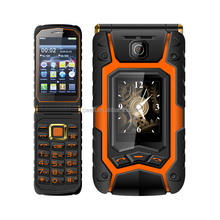 Rover X9 1.77 inch and 3.5 inch Dual Screen 1800mAh Big Battery Folding Mobile phone