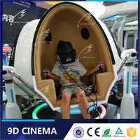 Hot Sale Outdoor Game Equipment VR Motion Rider System Interactive 9D VR Cinema 9D VR Egg Cinema
