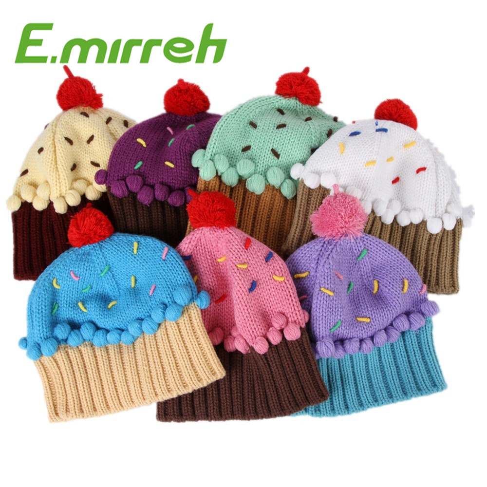 Wholesale free knitting patterns hat online buy best free kids hot promotional high quality strongknittedstrong cupcake bankloansurffo Image collections