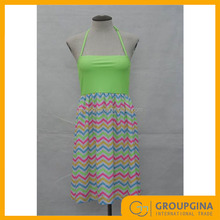 Wholesale Fashionable Custom Sexy Beach Bandeau Dress