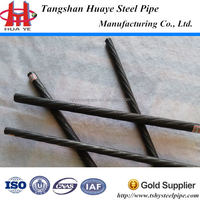 alibaba express high yield strength 10.7mm helical grooved PC bar pre-stressing concrete steel bars for construction price