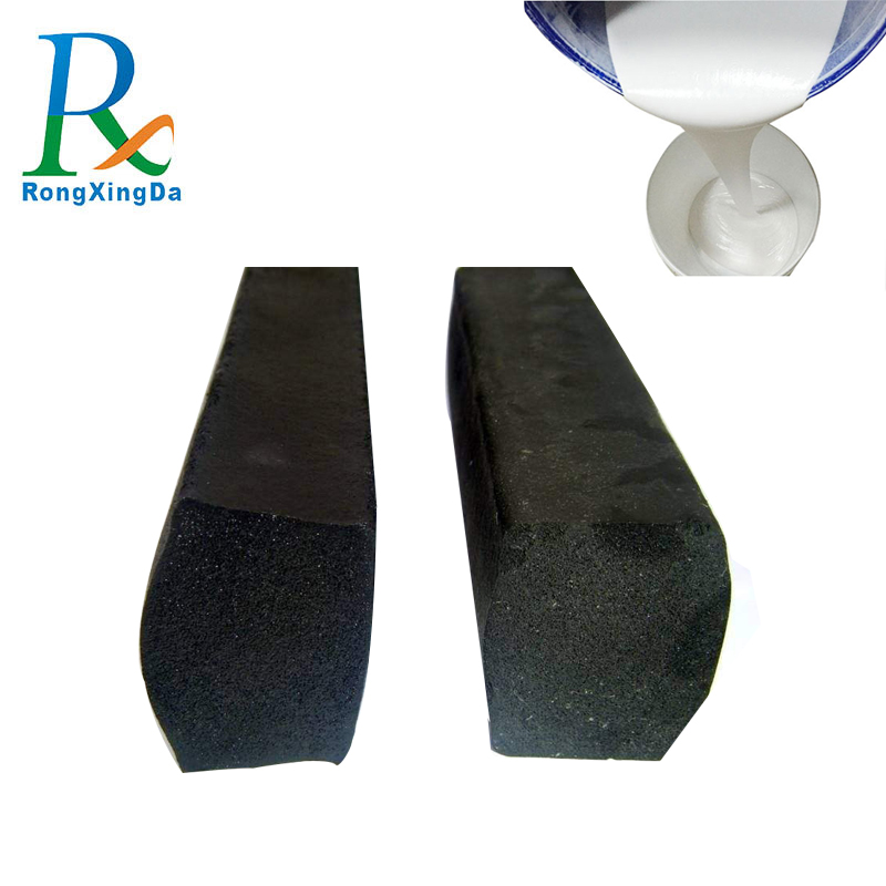 professional supply clear liquid silicone foam rubber used for silicone foam tube