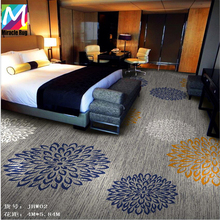 High Quality Hotel Carpet for Hotel Bedroom Soft Carpet Axminster Pattern