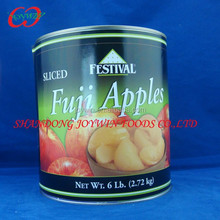 Canned slices solid pack apple Low price