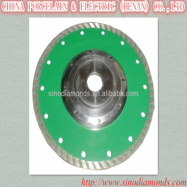 super wave turbo segmented diamond saw blades with flange