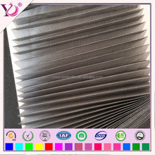 Retractable polyester window screen mesh fabric for greenhouse windows