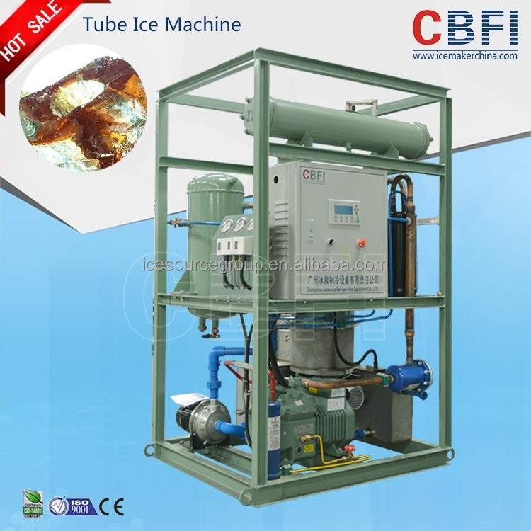 Exported red-hot tube ice machine Easy to handle