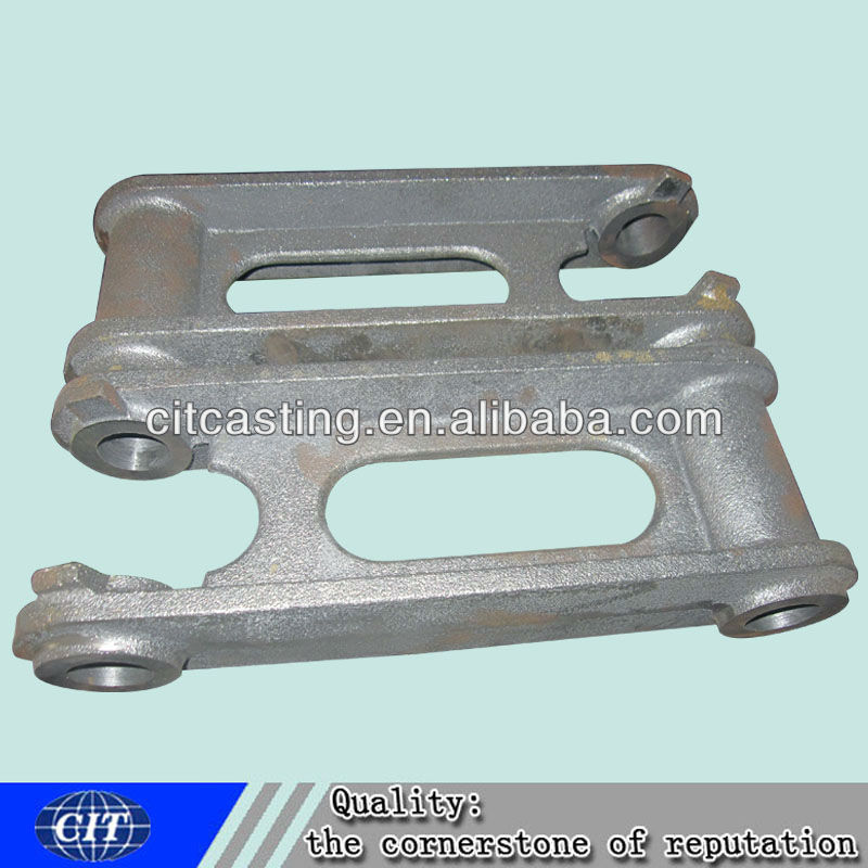 customized ductile iron casting truck parts connecting plate