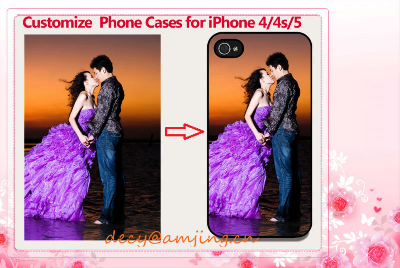 Customized Phone Cases for iPhone 4/4s/5, Customize Printing Mobile Phone Covers