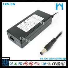 New products for led Monitor 12V 8a desktop type power adaptor 96w
