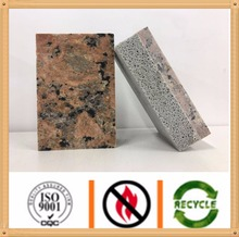 granite decorative and insulation Curtain wall cladding panel