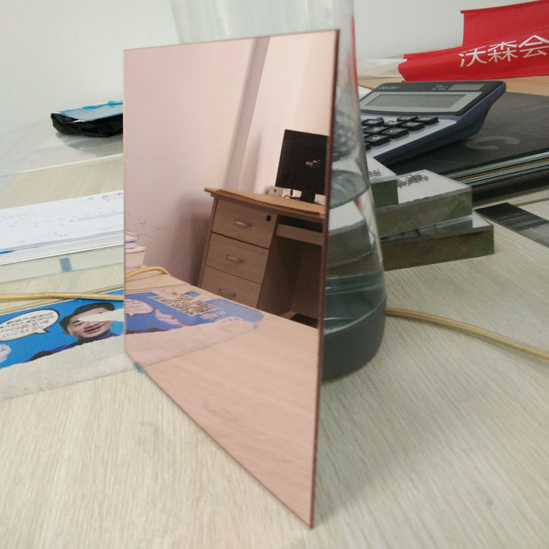 rose gold clear acrylic mirror <strong>sheet</strong>
