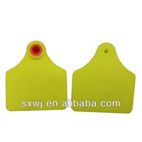Strong double ear tags for livestock buffaloes