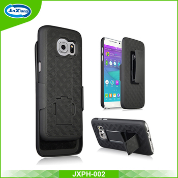 Hot selling factory direct holster combo for samsung galaxy s7 case
