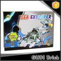 Sea explorer 180 pcs ABS construction bricks fancy toy