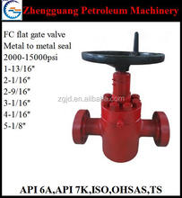 api 6a wellhead valve gate valve with price