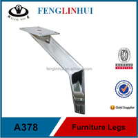 Furniture repair parts Iron furniture legs competitive A378
