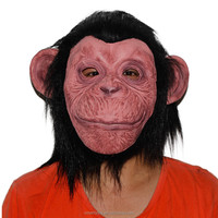 Accoutrements Halloween Gorilla Latex Mask Full Face Costume Funny Cosplay Gorilla Masks