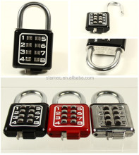 8 Digit Good quality Zinc Alloy Digital Door Padlock Combination Padlock