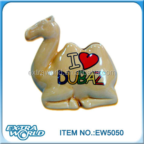 indoor decoration ceramic souvenir gift camel humidifier
