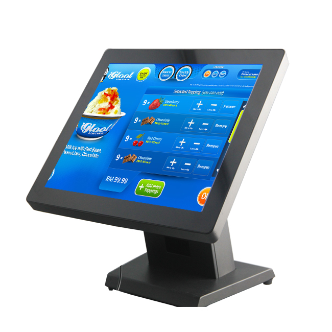 15 Inch Raspberry PI 3 Embedded Pos System Touch Screen