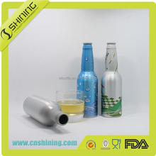 170ml design cheap aluminium bacardi rum bottles