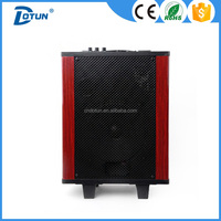 Outdoor promotional wood subwoofer speaker