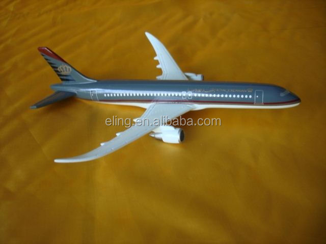 Resin plane model Airbus balsa wood airplane model kits