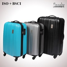 hard shell popular PC polycarbonate travel trolley safari bags