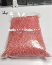 Dental composite material - full fill with flexible valplast pink resin without blood thread for false tooth