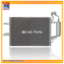 Car Small AC Parallel Flow Condenser Coil For Opel / Chevrolet Meriva