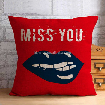 Digital Custom Printed Cotton and Linen Pillow Cases