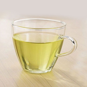 Wholesale 150ml heat resistant glass tea coffee cup with handle