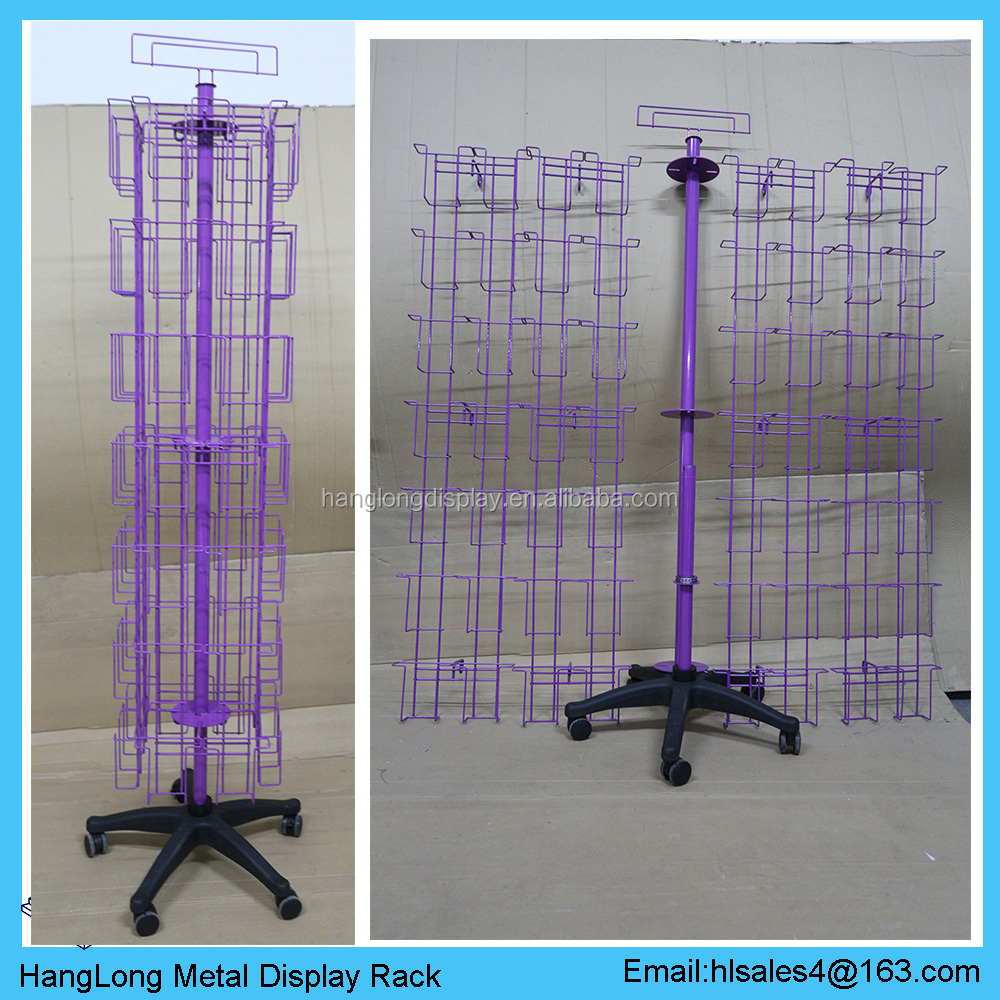 office use movable pamphlet display rack