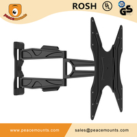Easy Installation Aluminum Rotating Arm Retractable Tilt UP and Down LCD Plasma TV Wall Mount