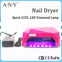Professional Diamond Nail Dryer Light To Nail Polish Tools CCFL Led Nail Lamp 36W(12WCCFL+24W Powerful LED )