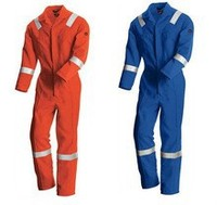 Oeko-tex high Tensile Strength fireproof workwear overall fabric material for ultima coverall workwear