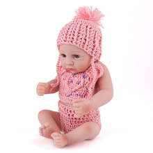 10inch miniature small mini real baby dolls for UK