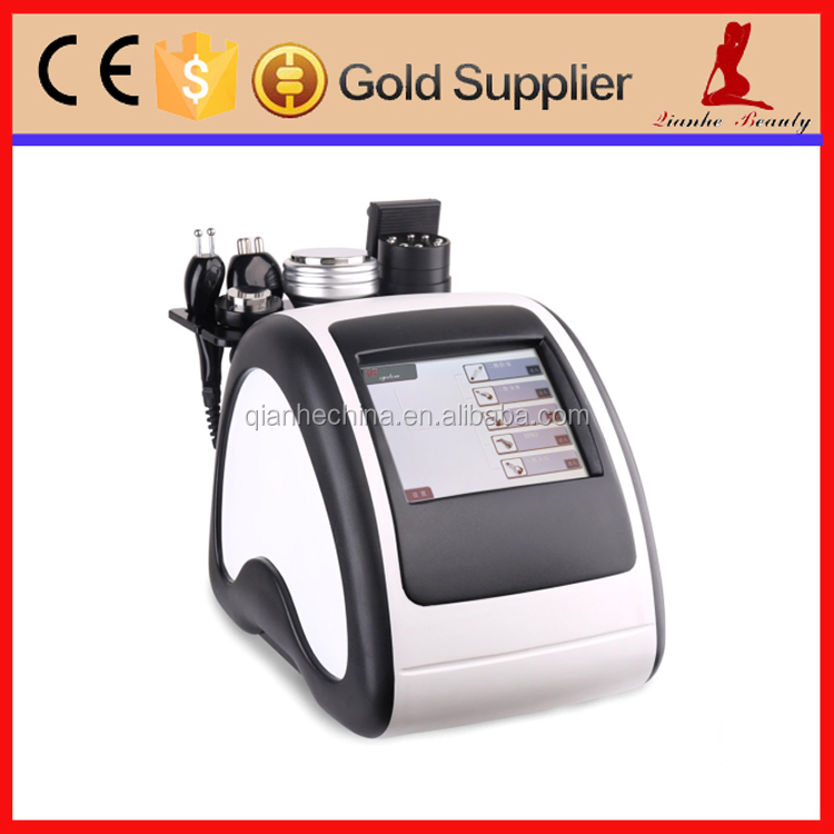 Portable polar RF + tripolar RF+ 8 polar rf vacuum ultrasonic cavitation machine for body slimming