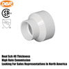 PVC 2*1/2 inch pipe increaser pipe fitting for dwv with good sale
