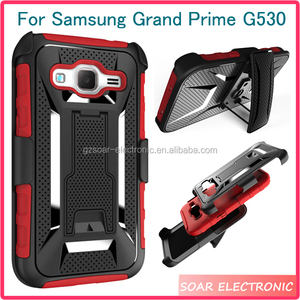 [Soar]US Europe Hotsale Shockproof Protective Belt Clip Kickstand Phone Case For Samsung Galaxy Grand Prime G530