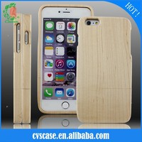 Wholesale Hot Selling Natural Maple Wood Phone Case For Iphone 5s.