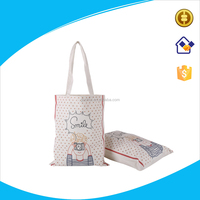 Custom cotton bag with long handles,canvas shopping bag