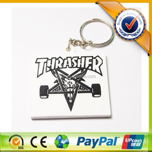 Promotional Manufactory Newly Motorcycle Rubber Keyring Key chain