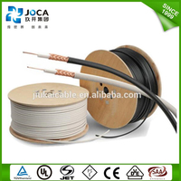 high quality cheap price RF 50ohm Insulation PE/FPE 3c-2v coaxial cable rg59 suitable for Television/CATV/Telecommunication